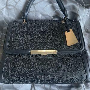 Aldo filigree handbag Black